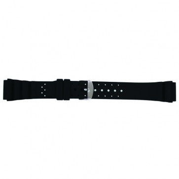 Bracelet de montre SL100 Silicone Noir 18mm