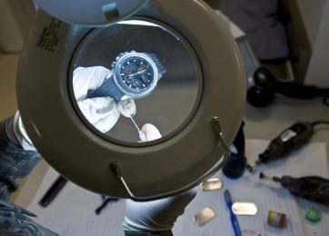 Nettoyage et lubrification des montres à quartz montres