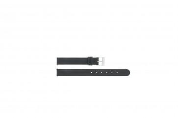 Bracelet de montre C012 XL Cuir Noir 12mm + coutures défaut