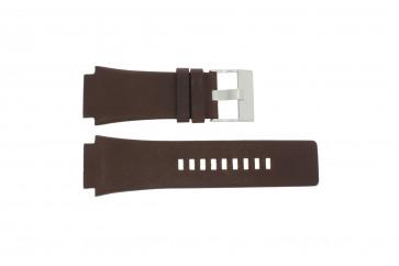 Diesel bracelet de montre DZ-1132 Cuir Brun 25mm
