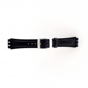 Bracelet de montre pour swatch blue foncé  19mm PVK-SC14.05