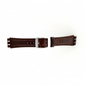 Bracelet pour Swatch brun 19mm PVK SC14.02