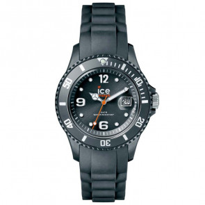 Bracelet de montre Ice Watch 001423 Caoutchouc Gris
