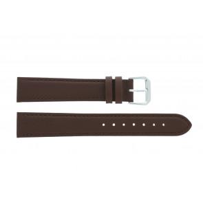 Bracelet de montre 054.L02 XL Cuir Brun 14mm + coutures défaut