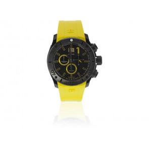 Edox bracelet de montre 10020 37N NJ2 Caoutchouc Jaune