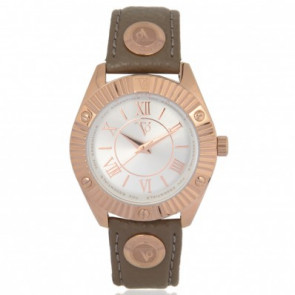 TOV Essentials bracelet de montre 1462 / TOV Cuir Taupe 18mm + coutures défaut