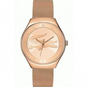 Lacoste bracelet de montre 2000872 / LC-71-3-34-2538 Métal Rosé 18mm