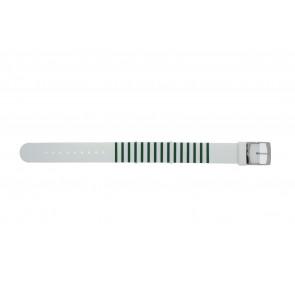 Lacoste bracelet de montre 2000892 / LC-84-3-14-2596 Silicone Vert 18mm