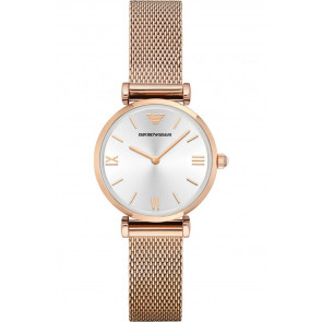 Bracelet de montre Armani AR1956 Acier Rosé