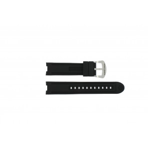 Buddha to Buddha bracelet de montre BTB.M.R.3H.2.2  / Accelerator Caoutchouc Noir 21mm