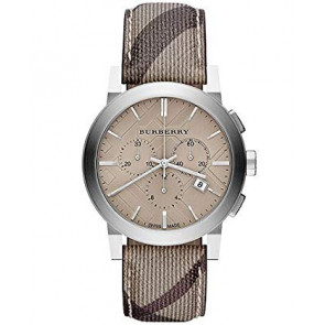 Bracelet de montre Burberry BU9361 Cuir Brun