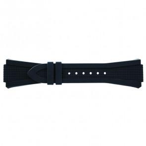 Breil bracelet de montre BW0387 En caoutchouc Gris 21mm