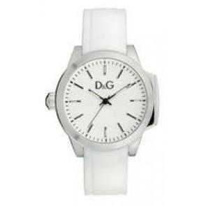 Bracelet de montre Dolce & Gabbana DW0746 Caoutchouc Blanc 18mm