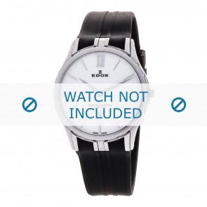Edox bracelet de montre 27033-3-BIN Silicone Noir