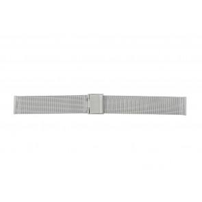 Other brand bracelet de montre E-ST-ZIL-18 Métal Argent 18mm