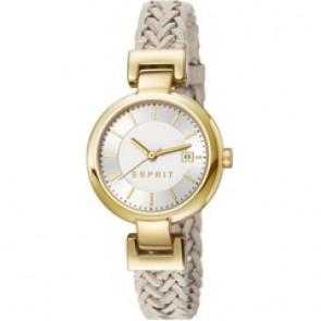 Esprit bracelet de montre ES107632.009 Cuir Beige 10mm