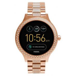 Montre Femmes Fossil FTW6008  Q EXPLORIST SMARTWATCH 44MM Numérique Digital Smartwatch
