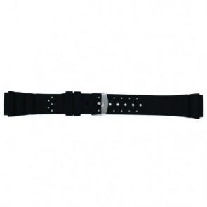 Bracelet de montre SL100 Silicone Noir 20mm