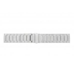 Hugo Boss bracelet de montre HO1512983 / HB-223-1-14-2630-2399-4/13 Métal Argent 24mm