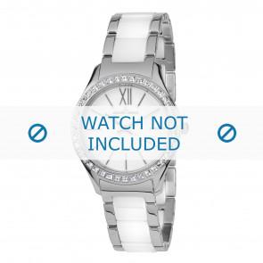 Jacques Lemans bracelet de montre 1-1797B Céramique Bicolore