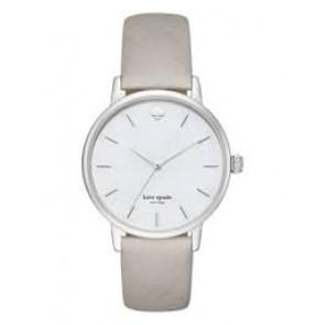 Kate Spade New York bracelet de montre KSW1141 / METRO Cuir Gris