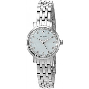 Kate Spade New York bracelet de montre KSW1241 / MINI MONTEREY Métal Argent
