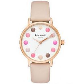 Kate Spade New York bracelet de montre KSW1253 / METRO Cuir Rose