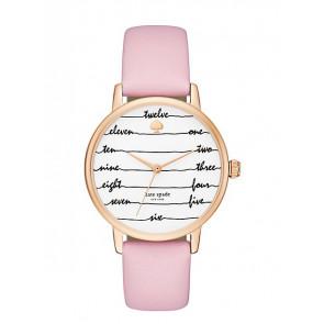 Bracelet de montre Kate Spade New York KSW1239 Cuir Rose