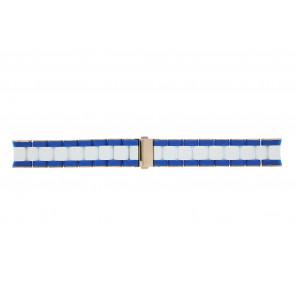 Marc by Marc Jacobs bracelet de montre MBM2594 Silicone Bicolore 20mm