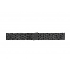Other brand bracelet de montre MESH18.01 Métal Noir 18mm
