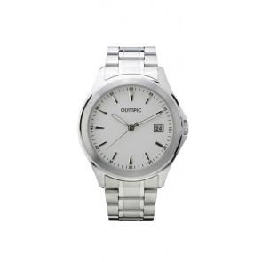 Olympic bracelet de montre OL26HSS240 Métal Argent 20mm