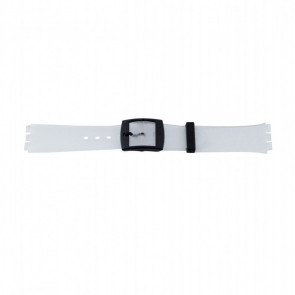 Other brand bracelet de montre P51.14 Plastique Transparant 17mm