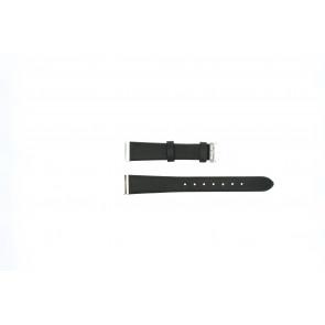 Rip Curl bracelet de montre Brown Light Cuir Brun 24mm + coutures brunes