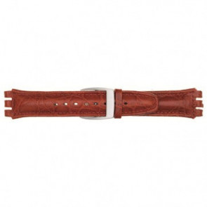 Bracelet de montre pour Swatch rouge 19mm 07M