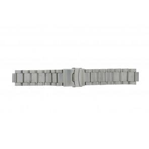 Q&Q bracelet de montre QQ13ST-ZI-ST Métal Argent 13mm