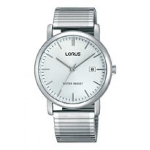 Lorus bracelet de montre RG855CX9 / VJ32 X246 / RHA042X Métal Argent 19mm