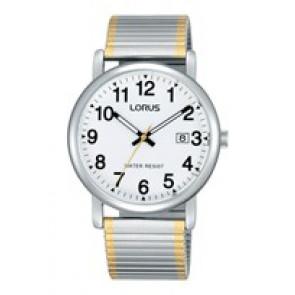 Lorus bracelet de montre RG861CX9 / VJ32 X246 / RHA063X Métal Bicolore 20mm