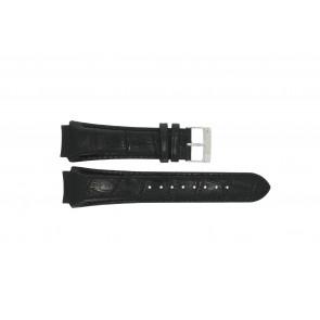 Prisma bracelet de montre SPECZW21 Cuir Noir 21mm + coutures noires