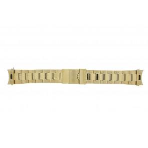 Prisma bracelet de montre STD22 Métal Or 22mm
