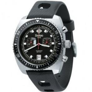 Zodiac bracelet de montre ZO2240 Caoutchouc Noir