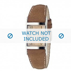 Armani bracelet de montre AR0251 Cuir Brun 22mm