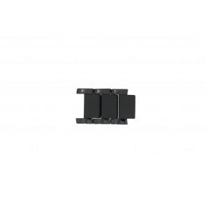 Armani AR1474 Maillons Céramique Noir 22mm