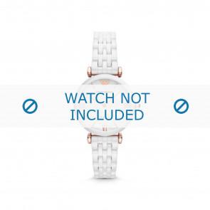 Armani bracelet de montre AR1486 Céramique Blanc
