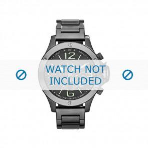 Armani bracelet de montre AX-1507 Métal Gris 22mm