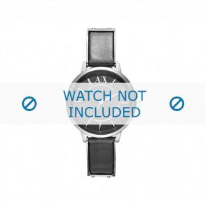 Armani bracelet de montre AX-5303 Cuir Noir 16mm