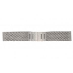 Mondaine bracelet de montre BM20031 / 12622.ST.2 Métal Argent 22mm