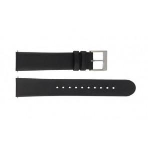 Mondaine bracelet de montre BM20098 / FE16822.20Q.XL Cuir Noir 22mm