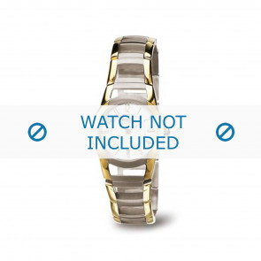 Boccia bracelet de montre 3140-02 Titane Or (dorée) 22mm