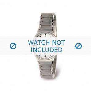 Boccia bracelet de montre 3158-01 Titane Argent 14mm