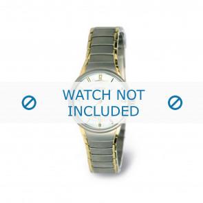 Boccia bracelet de montre 3158-02 Titane Argent 15mm